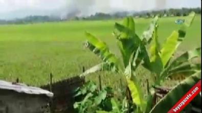 Arakanlıların evleri yeniden ateşe verildi