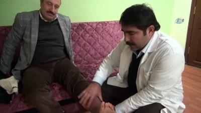 2008 yili -  Doktorların 'ayağın kesilecek' dediği hasta, alternatif tıpla sağlığına kavuştu