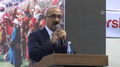 universite harclari - Bakan Elvan: 'Önce hayal edeceğiz sonra hakikate dönüştüreceğiz'' - MERSİN