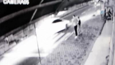 yaya gecidi -  Otomobilin altında kalan 4 yaşındaki çocuk hayatını kaybetti... Kaza anı kamerada