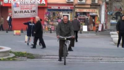 konferans -  Lüleburgaz'da motorlu araçlar, yerini bisiklete bırakıyor