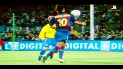 Ronaldinho'nun unutulmaz hareketleri