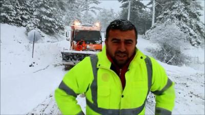 Kar yağışı - MANİSA