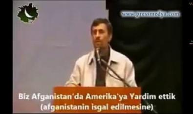 Mahmud Ahmedinejad : 'Afganistan ve Irak'ın işgalinde Amerika'ya yardım ettik.