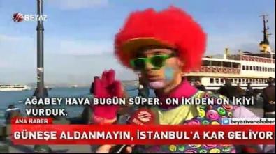 Güneşe aldanmayın! İstanbul'a kar geliyor