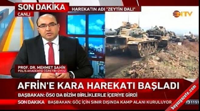 mehmet sahin - Batı medyası Afrin operasyonuna nasıl bakıyor?