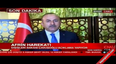 fransa - Dışişleri Bakanı Çavuşoğlu'ndan Fransa'nın BMGK çağrısına yanıt