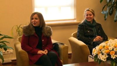 kalaba -  BTTDD Kadın Kolları'ndan Dündar'a ziyaret