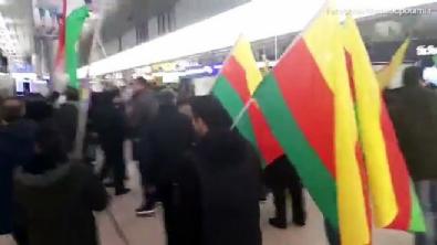 Gurbetçilerden PKK'lılara meydan dayağı