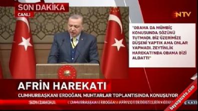Cumhurbaşkanı Erdoğan: TSK ve ÖSO'nun 7-8 şehidi var