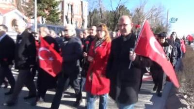 siyasi parti -  Uğur Mumcu Edirne'de karanfillerle anıldı