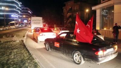 siyasi parti - Sürücülerden 'Zeytin Dalı Harekatı'na destek - BOLU
