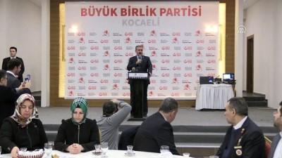 siyasi parti - Destici: 'Suriye'nin kuzeyinde kurulmaya çalışılan koridor, Kürt koridoru değil, terör koridorudur.' - KOCAELİ