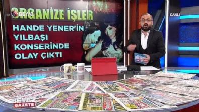 Hande Yener'in yılbaşı konserinde olay çıktı