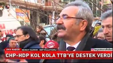CHP-HDP kardeşliğini Beyaz Haber görüntüledi