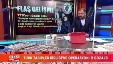 Türk Tabipler Birliği'ne operasyon; 20 kişi gözaltında