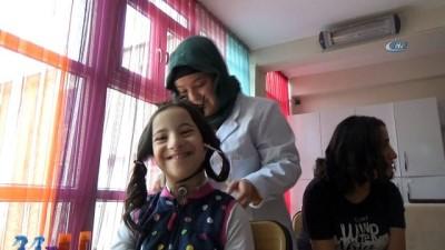 egitim merkezi -  Özel öğrencilerin saç bakımı sevinci  Videosu