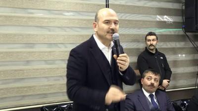 İçişleri Bakanı Soylu: 'Bir çok koldan faaliyet yürütüyorlar' - TRABZON