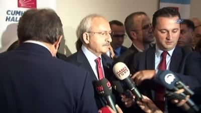 CHP Genel Başkanı Kılıçdaroğlu: 'Önce bir kararı görmemiz lazım. Hangi gerekçelerle bu kararın verildiğine bakmak gerekiyor'