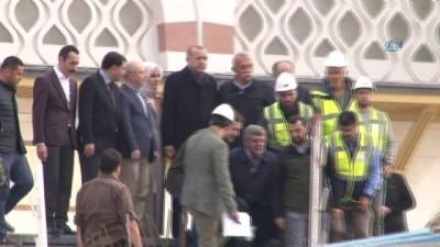 karayolu tuneli -  Cumhurbaşkanı Erdoğan, Çamlıca Camii'nde incelemelerde bulundu