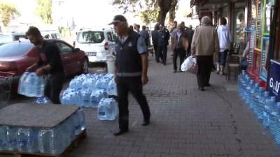 galler -  Zonguldak'ta kaldırım işgali operasyonu