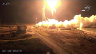 - Nasa, Uzay İstasyonuna Kargo Roketi Antares'i Fırlattı
