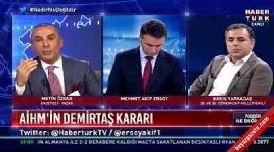 Metin Özkan'dan Barış Yarkadaş'a tarihi ayar