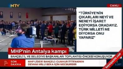 MHP 3 büyükşehirde aday çıkarmayacak