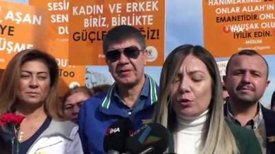 cumhuriyet meydani -  - Antalya'da kadınlar şiddete karşı yürüdü