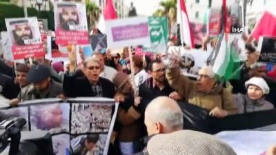 - Tunus'ta Halk Suudi Veliaht Prens'in Ziyaretini Protesto Etti