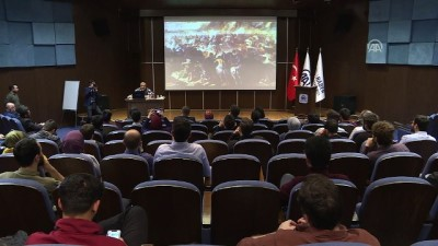 calisan gazeteciler - Coşkun Aral deneyimlerini genç gazetecilerle paylaştı - ANKARA