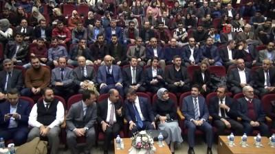 Eski Başbakan Ahmet Davutoğlu, Şırnak'ta