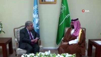 - Suudi Arabistan Prensi Selman, BM Genel Sekreteri İle Görüştü
