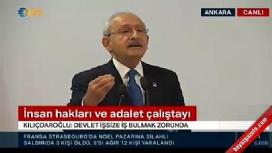 kemal kilicdaroglu - Kılıçdaroğlu: Sokağa çıkmayan işçi, işçi değildir