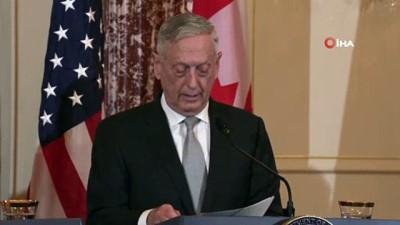 Trump İle Anlaşamayan ABD Savunma Bakanı Jim Mattis'ten İstifa Kararı