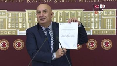 CHP'li Özkoç'tan Tank Palet Fabrikası için kanun teklifi