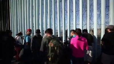 ABD-Meksika sınırındaki göçmenler - TİJUANA
