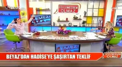 Beyazıt Öztürk'ten Hadise'ye şoke eden soru!