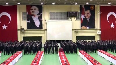 gonul elcileri - Diyarbakır'da polis adaylarının mezuniyet sevinci