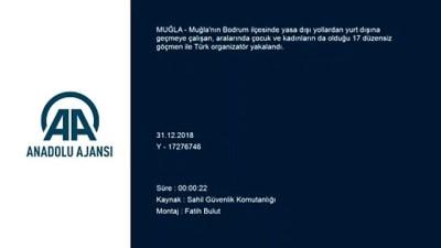 kacak gecis - Ege Denizi'nde düzensiz göçle mücadele - MUĞLA