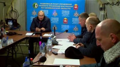 Putin, doğal gaz patlamasının yaşandığı bölgede - MAGNİTOGORSK