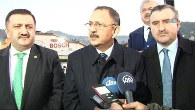 """cumhuriyet meydani -  Bakan Özhaseki: """"Rize'de riskli dolgu alanında 2 bin 700 konut ve bin 500 ticarethane bulunuyor"""""""