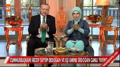 Cumhurbaşkanı Erdoğan Müge Anlı'ya konuk oldu