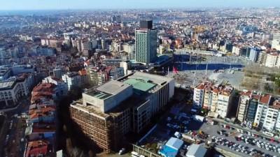 sinema salonu -  Yıkımı için gün sayılan Atatürk Kültür Merkezi havadan görüntülendi