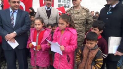 vatana ihanet -  Öğrencilerden Afrin'e destek mektubu