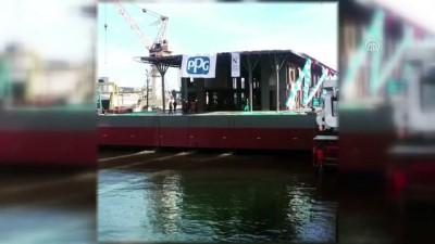 2008 yili - Yüzer Karaköy İskelesi nisan ayında hizmete alınacak - İSTANBUL