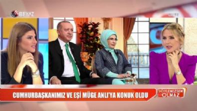 Cumhurbaşkanı Erdoğan ve eşi Müge Anlı'nın programına konuk oldu!