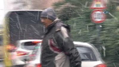 Kar yağışı İstanbul'u etkisi altına aldı