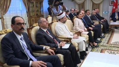 - Cumhurbaşkanı Erdoğan, Moritanya'da Heyetlerarası Görüşmeye Katıldı