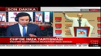 CHP kurultayında Muharrem İnce'nin adaylığında mükerrer imza iddiası